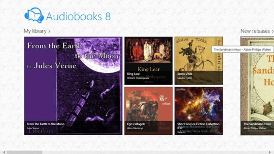 Audiobooks 8 for Windows 8