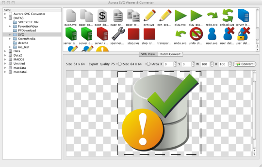 Aurora SVG Viewer & Converter (Mac)