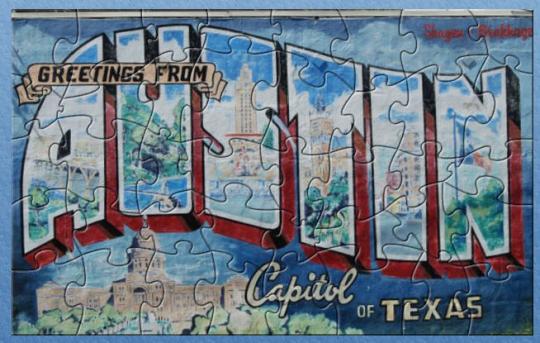 Austin Texas Jig Saw Puzzle