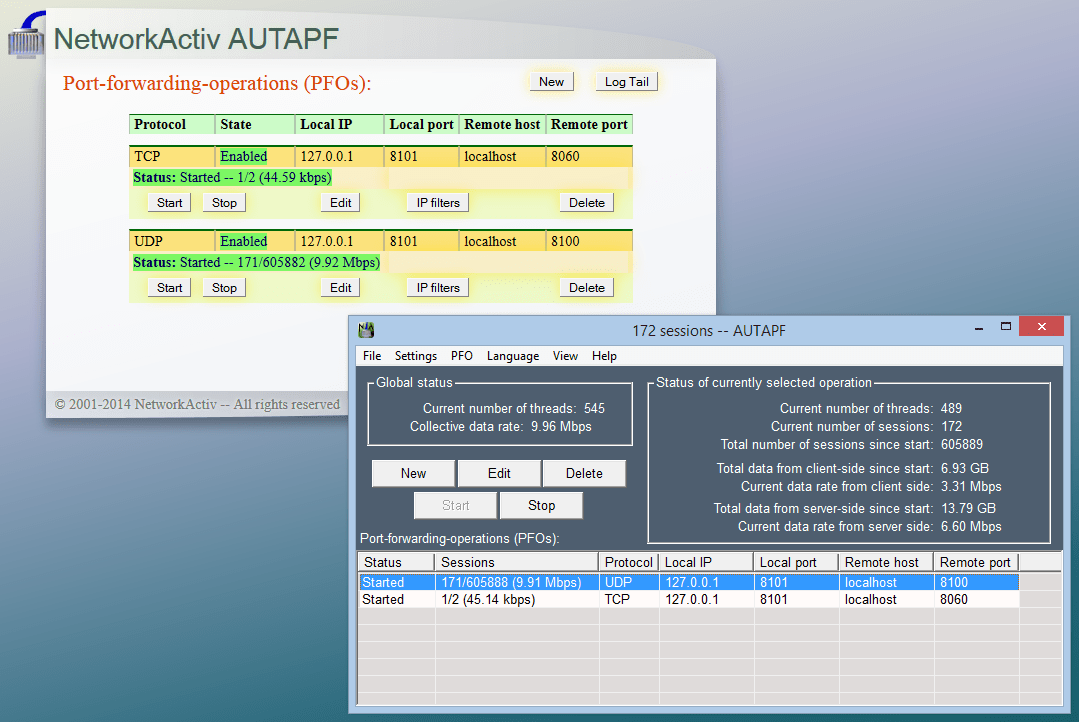 AUTAPF Port Forwarder