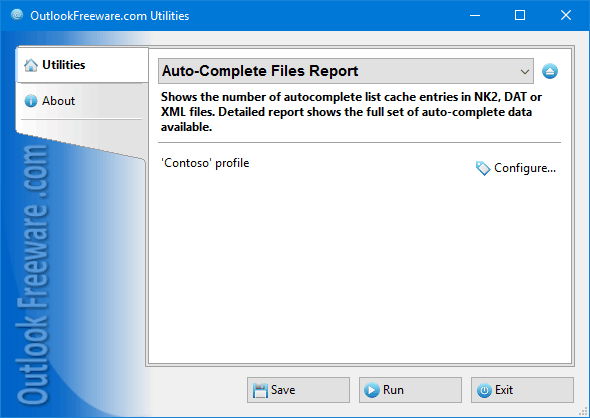 Auto-Complete Files Report