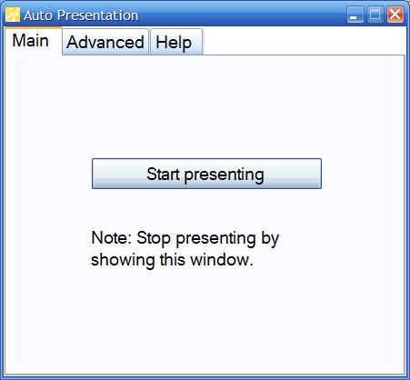 Auto Presentation