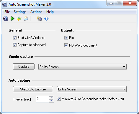 Auto Screenshot Maker