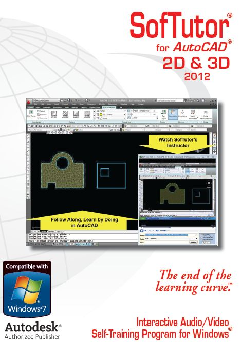 AutoCAD 2D 3D 2012 SofTutor Tutorials