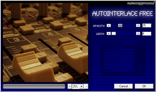 Autointerlace (64-bit)