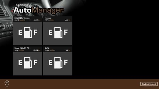 AutoManager for Windows 8