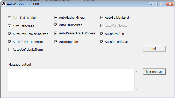 AutoPlayStarcraft108