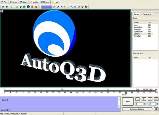 AutoQ3D Animation