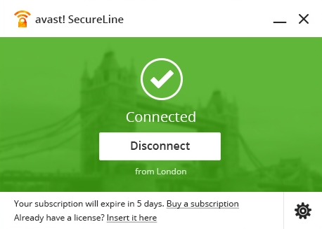 Avast SecureLine VPN