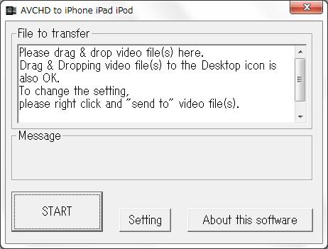 AVCHD to iPhone iPad iPod