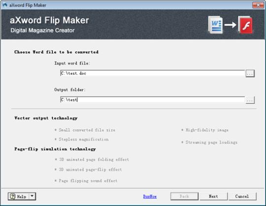 aXword Flip Maker