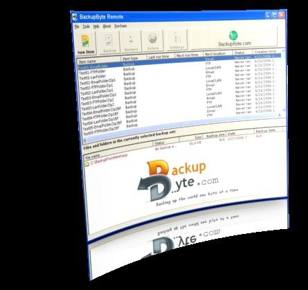 BackupByte Remote