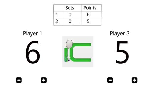 Badminton Counter for Windows 8