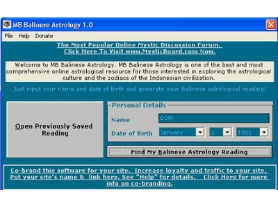 Balinese Astrology