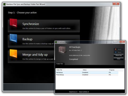 Bamboo File Sync and Backup