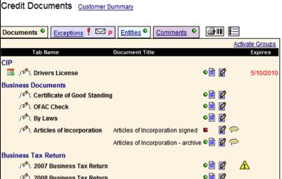 Bank Document Management