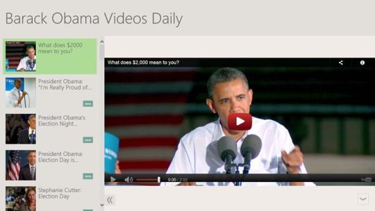 Barack Obama Videos Daily