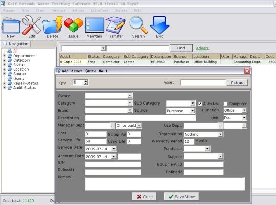 Barcode Asset Tracking Software