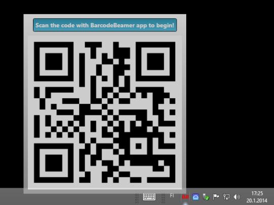 BarcodeBeamer for Windows