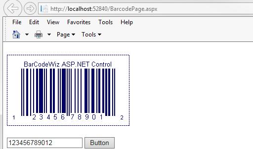 BarCodeWiz Barcode Control for ASP.NET