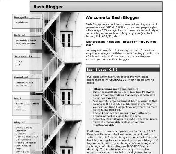 Bash Blogger