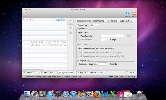 Batch PDF Splitter