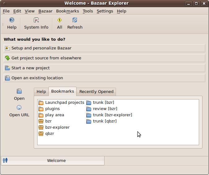 Bazaar Revision Control System