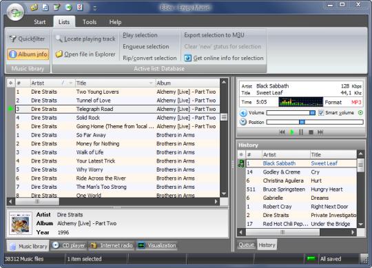 BBox Audio Player & Organizer