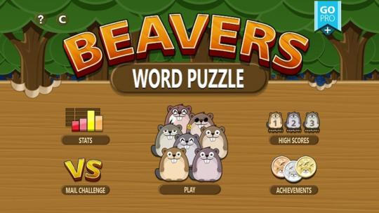 Beavers Word Puzzle for Windows 8