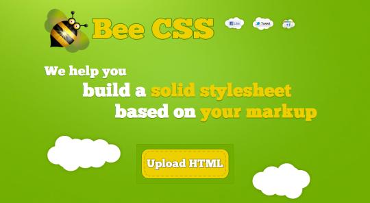 Bee CSS - CSS Generator