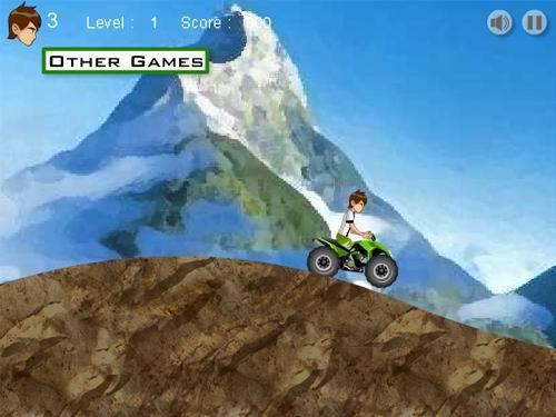 Ben 10 Mountain ATV