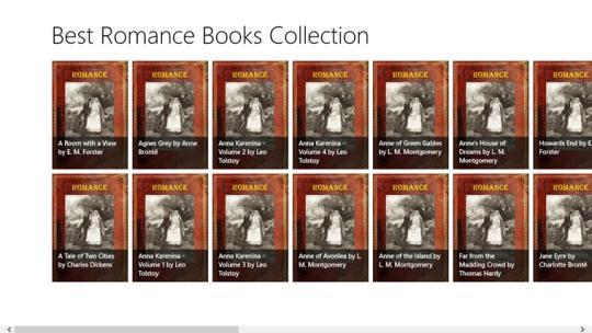 Best Romance Books Collection for Windows 8