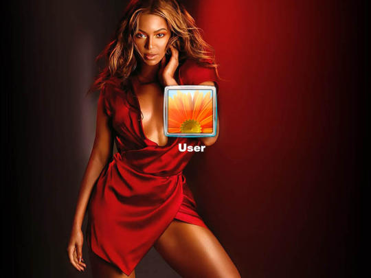 Beyonce Logon Screen