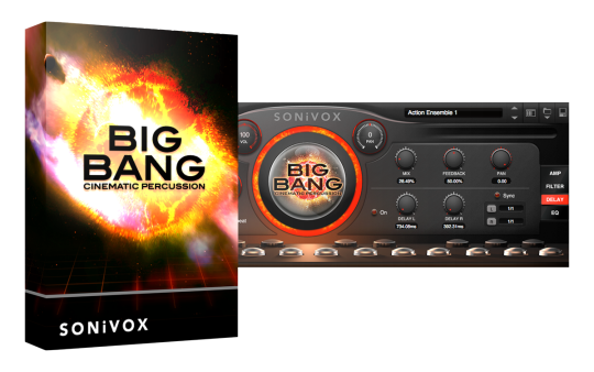 Big Bang Cinematic Percussion
