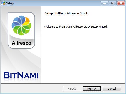 BitNami Alfresco Stack