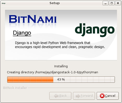 BitNami DjangoStack