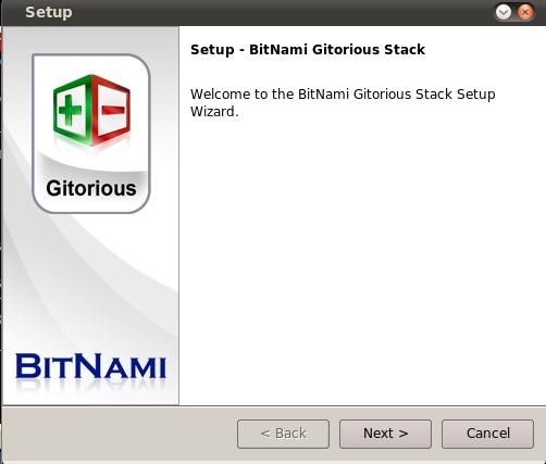 Bitnami Gitorious Stack