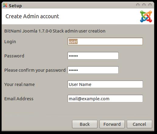 BitNami Joomla Stack