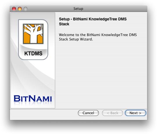 BitNami KnowledgeTree Stack