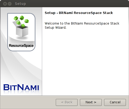 Bitnami ResourceSpace Module