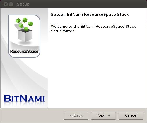 Bitnami ResourceSpace Stack