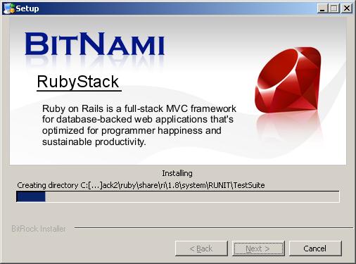 BitNami RubyStack