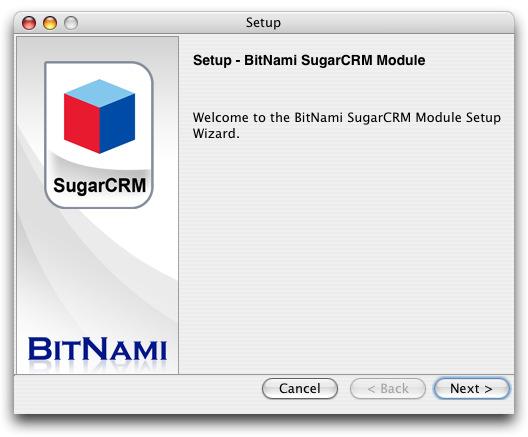 BitNami SugarCRM Stack
