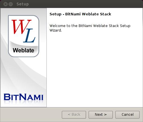 Bitnami Weblate Stack
