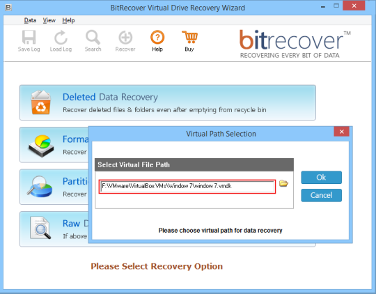 BitRecover VMDK Recovery Wizard