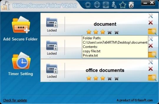 BitSec Secure Folder (Free Edition)