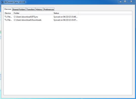 BitTorrent Sync (beta)