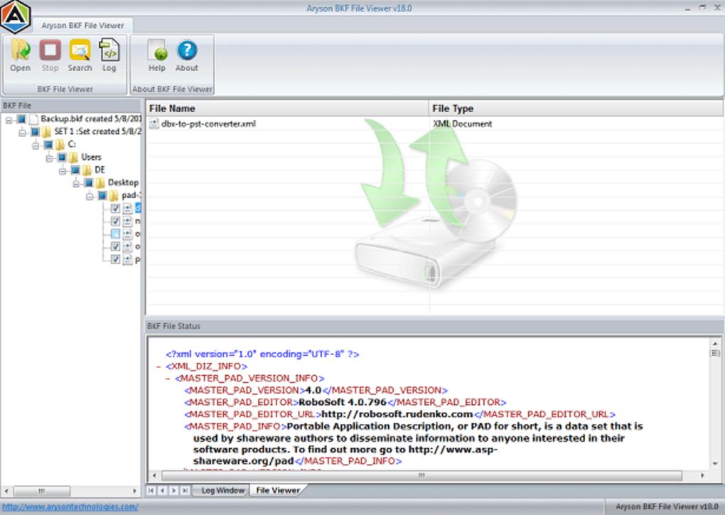 BKF File Viewer