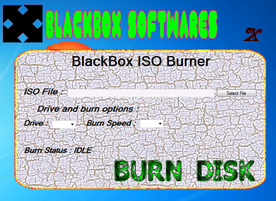 BlackBox ISO Burner