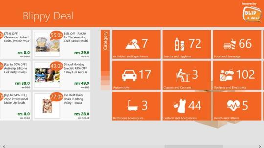 Blippy Deal for Windows 8